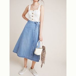 Anthropologie Citizens of Humanity Madelyn Skirt